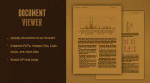 jQuery document viewer