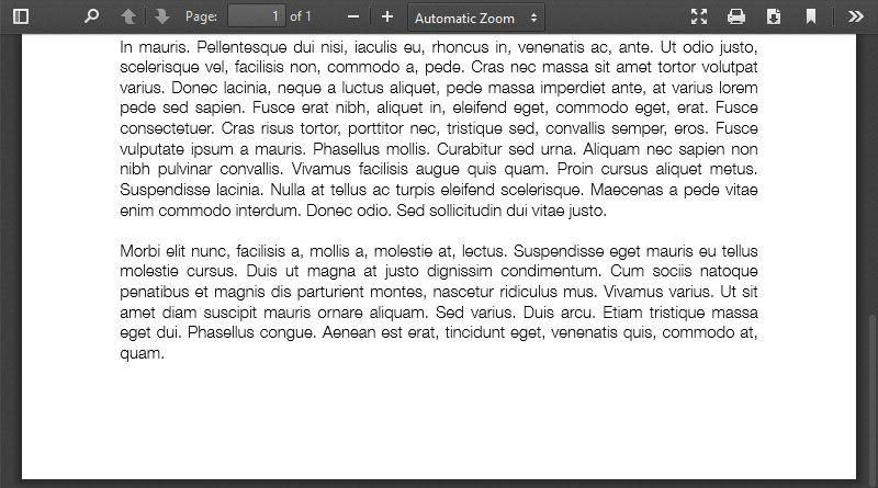 PDF Embedding