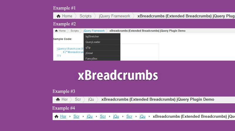 xBreadcrumbs