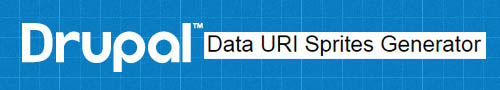 Drupal Data URI Sprites Generator