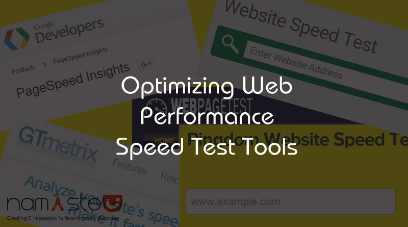Performance Speed Test Tools