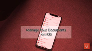 Manage Your Documents on iOS
