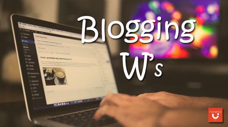 blogging w
