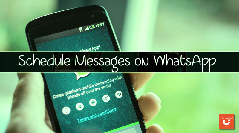 Schedule a WhatsApp Message
