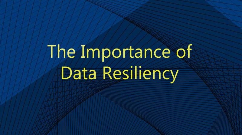 Data Resiliency