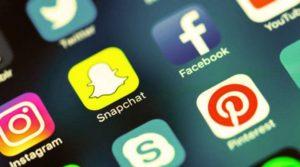 Facebook Instagram Snapchat