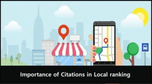 Citations in Local ranking