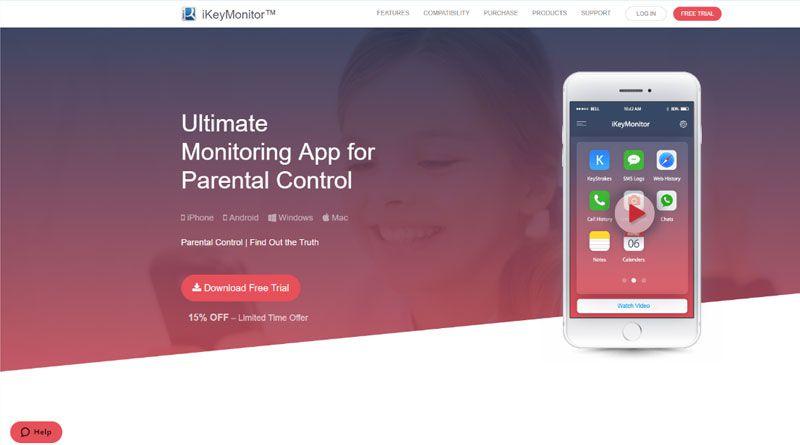 iKeyMonitor spy app
