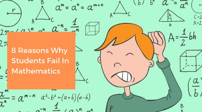 Students Fail In Mathematics