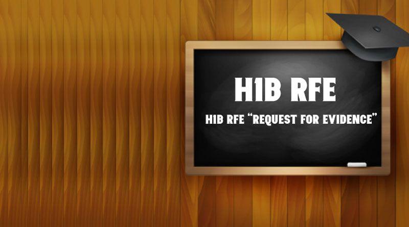 H1B Visa RFE