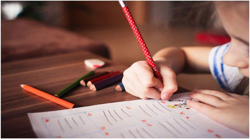 child to write