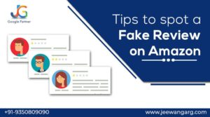 fake review on Amazon