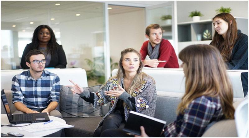 Meeting room coworking space