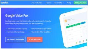 google voice fax
