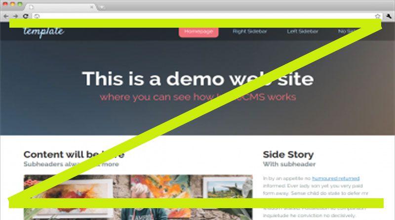 Z-pattern Web Design