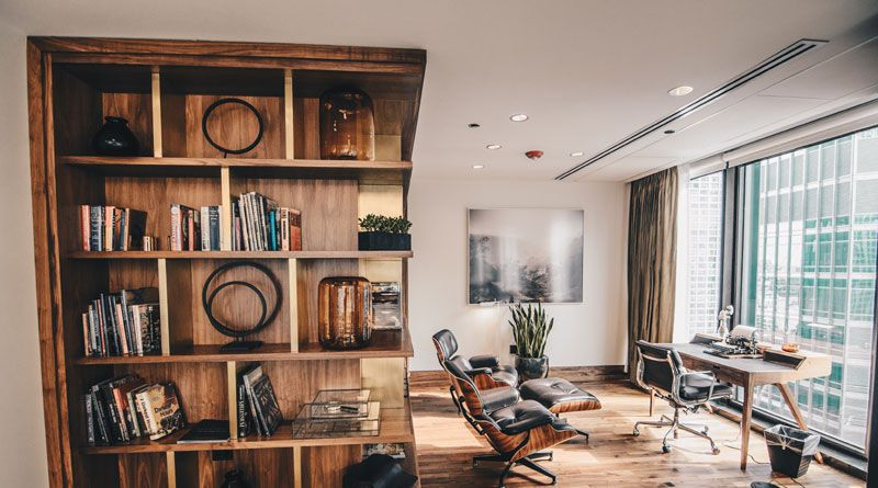 Incorporate wood for instant coziness
