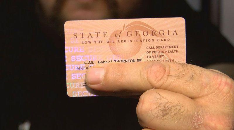 Oil Registry Card Georgia