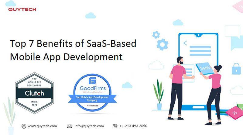 SaaS-Based Mobile App