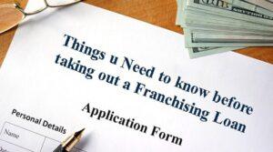 Franchising Loan