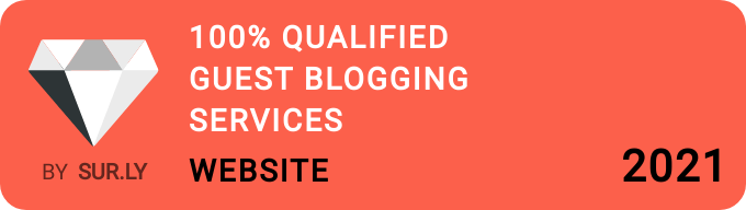 100% Qualified Guest Blogging Services